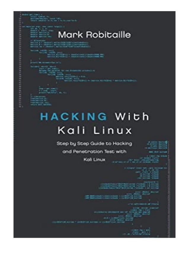 [PDF|BOOK|E-PUB|Mobi] ebook_$ Hacking With Kali Linux Step by Step Guide to Hacking and Penetration Test with Kali Linux r...