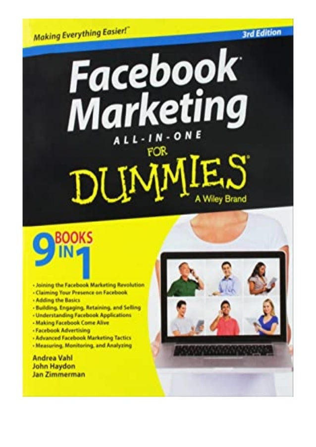 [PDF|BOOK|E-PUB|Mobi] ^^[download p.d.f]^^@@ Facebook Marketing All-in-One For Dummies review DOWNLOAD EBOOK PDF KINDLE [f...
