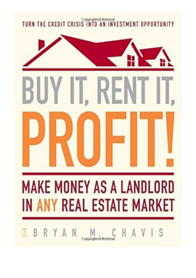 [PDF|BOOK|E-PUB|Mobi] Read_EPUB Buy It, Rent It, Profit Make Money as a Landlord in ANY Real Estate Market review DOWNLOAD...