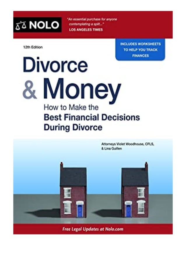 [PDF|BOOK|E-PUB|Mobi] ((download_p.d.f))^@@ Divorce amp Money How to Make the Best Financial Decisions During Divorce Divo...