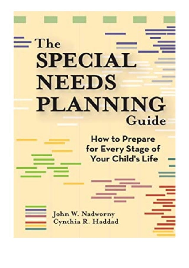 [PDF|BOOK|E-PUB|Mobi] epub_$ The Special Needs Planning Guide How to Prepare for Every Stage of Your Child039s Life review...