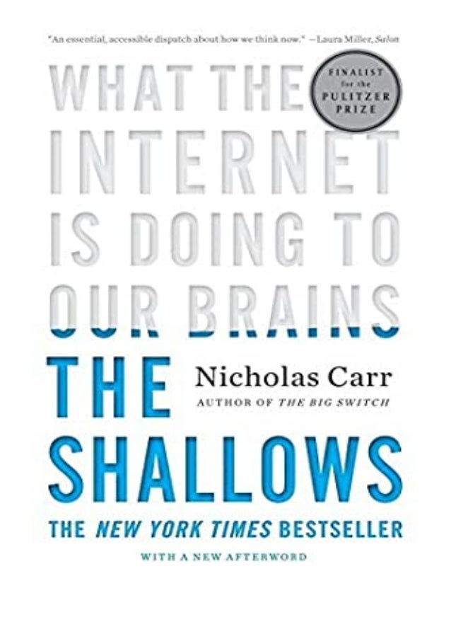 [PDF BOOK E-PUB Mobi] ((Download))^^@@ The Shallows What the Internet Is Doing to Our Brains review DOWNLOAD EBOOK PDF KIN...