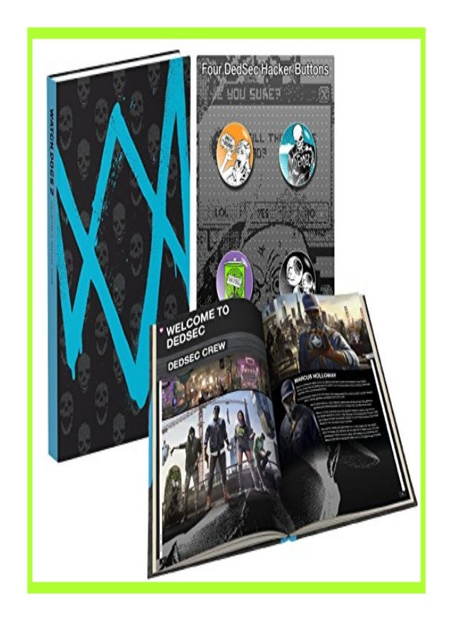 [PDF|BOOK|E-PUB|Mobi] [download]_p.d.f$@@ Watch Dogs 2 Prima Collector's Edition Guide review DOWNLOAD EBOOK PDF KINDLE [f...