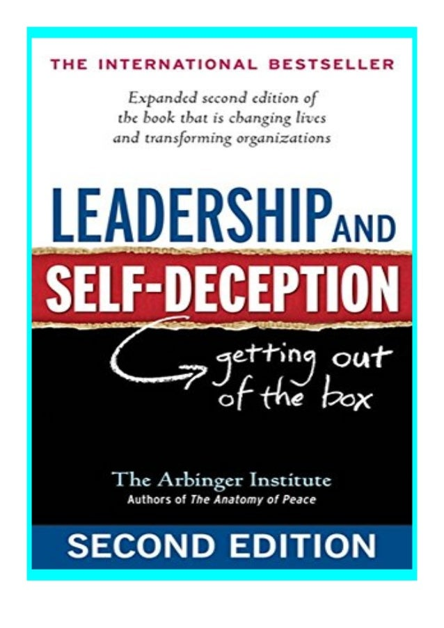 [PDF|BOOK|E-PUB|Mobi] hardcover_$ Leadership and SelfDeception Getting Out of the Box review DOWNLOAD EBOOK PDF KINDLE [fu...