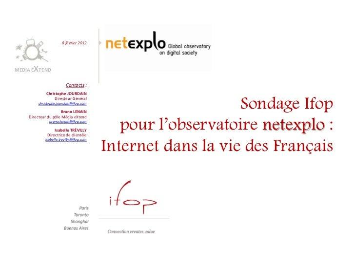 8 février 2012      XMEDIA E TEND                        Contacts :            Christophe JOURDAIN                 Directe...