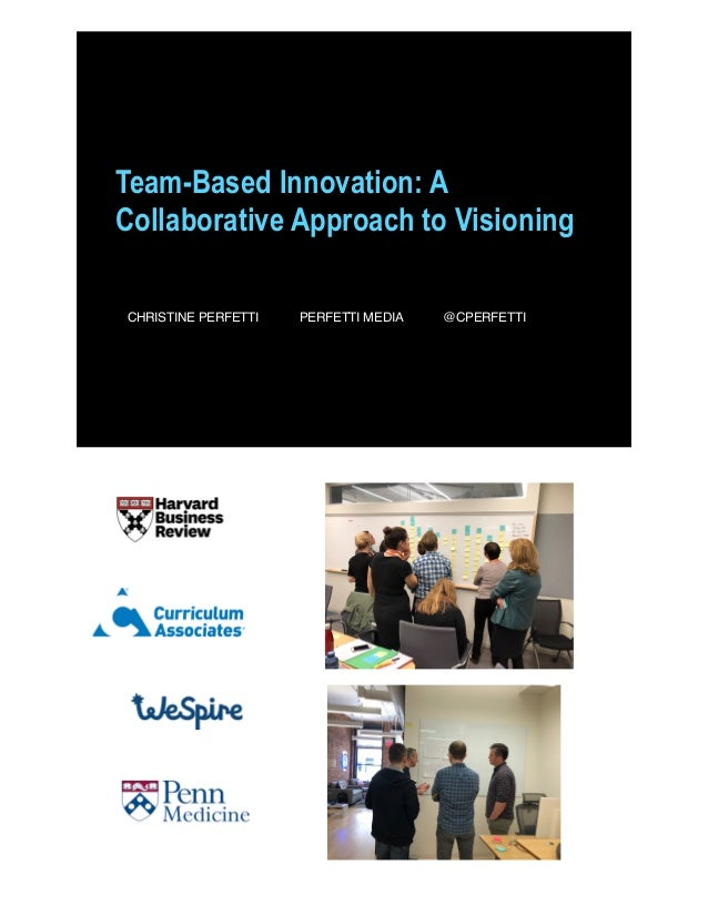 Team-Based Innovation: A Collaborative Approach to Visioning CHRISTINE PERFETTI PERFETTI MEDIA @CPERFETTI