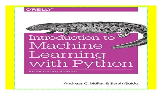Introduction To Machine Learning With Python Read E Book
