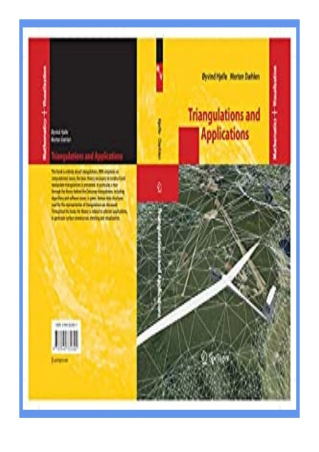 [PDF|BOOK|E-PUB|Mobi] kindle_$ Triangulations and Applications (Mathematics and Visualization) review DOWNLOAD EBOOK PDF K...