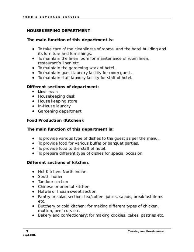 17721021 manual for food beverage service rh slideshare net food and beverage manager glasgow food and beverage manager