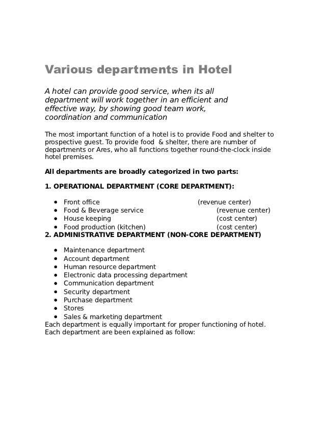 17721021 manual for food beverage service rh slideshare net food and beverage manager food and beverage manager job description