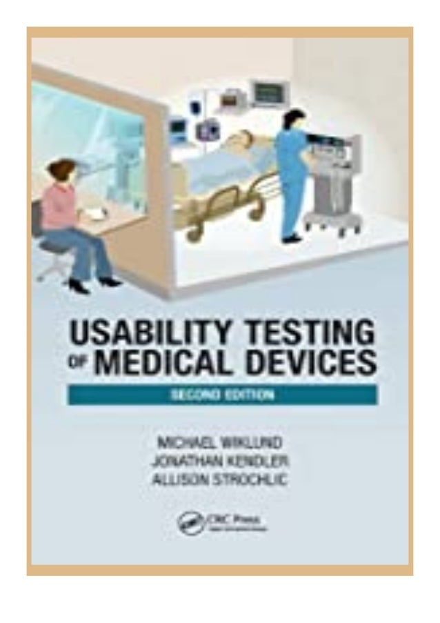 [PDF BOOK E-PUB Mobi] ((download_[p.d.f]))@@ Usability Testing of Medical Devices review DOWNLOAD EBOOK PDF KINDLE [full b...