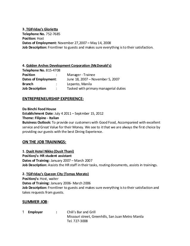 how to build resume