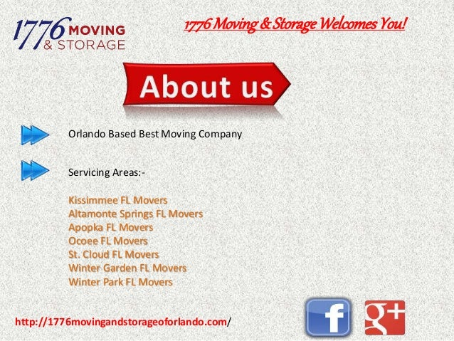 1776 Moving U0026 Storage Orlando