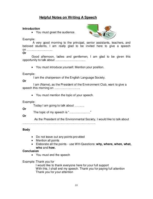 example of english essay