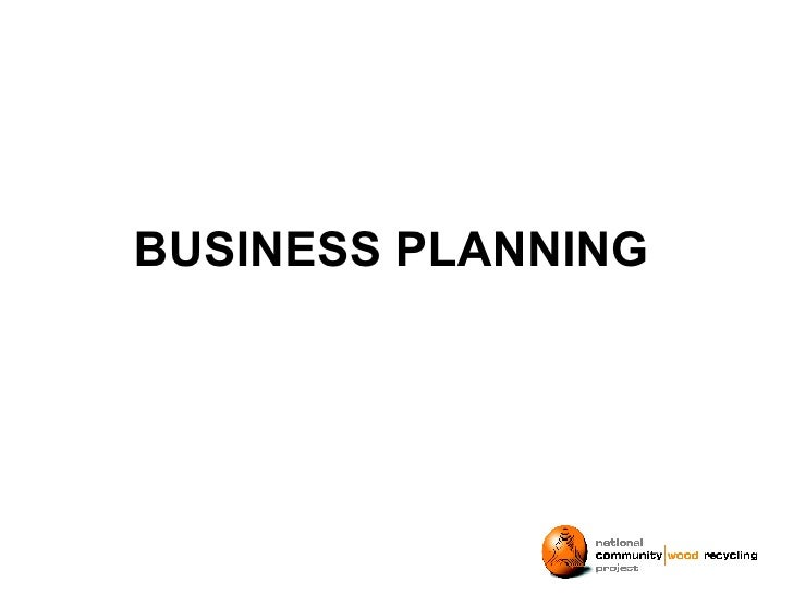 BUSINESS PLANNING