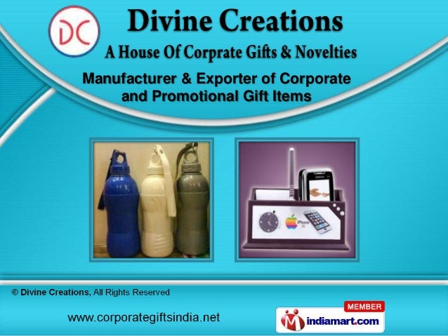 Manufacturer & Exporter of Corporate    and Promotional Gift Items