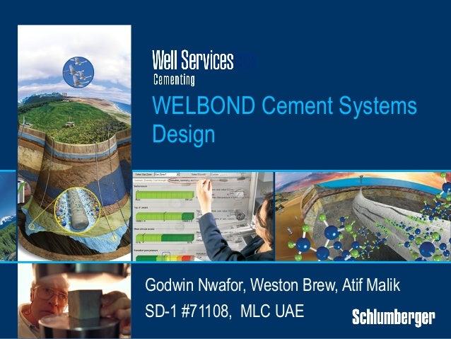 GNwafor WellBond Cement System Design