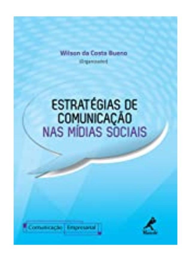 [PDF|BOOK|E-PUB|Mobi] ebook_$ Estratégias de Comunicação nas Mídias Sociais (Série Comunicação Empresarial) (Portuguese Ed...