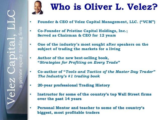 Oliver velez forex pdf
