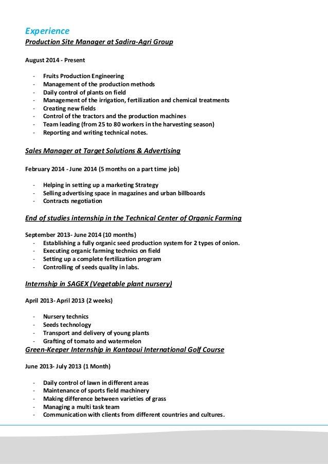 Free Resume Plant Nursery Worker Resume