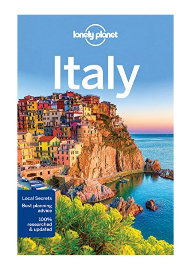 Lonely Planet Italy Pdf