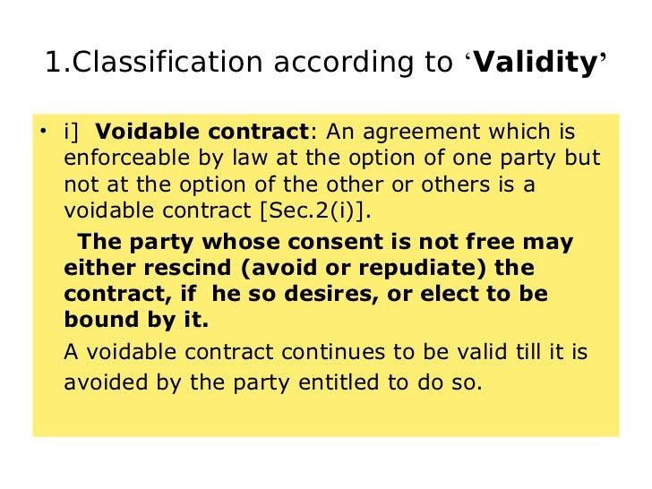 the law of contract voidable Contract law mock test, take free online aptitude tests and reasoning questions for competitive exams and certification courses make yourself prepared before the.