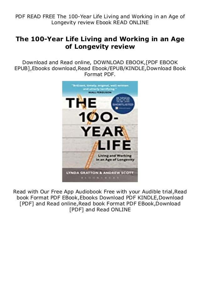 The 100-Year Life PDF Free Download