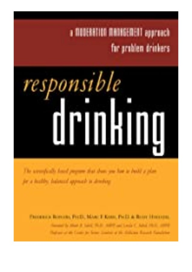 pdf_ Responsible Drinking A Moderation Management Approach for. Problem Drinkers review ^^Full_Books^^