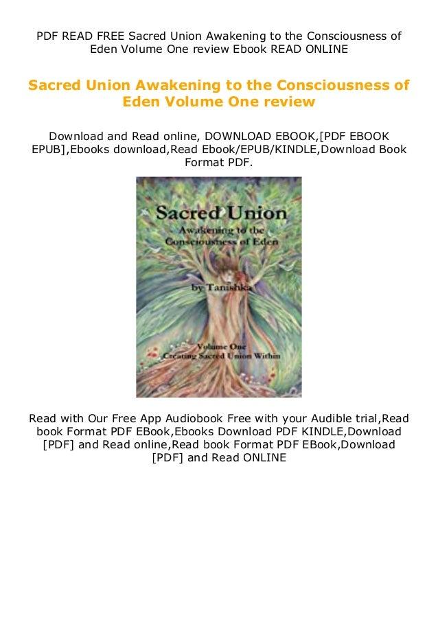 PDF READ FREE Sacred Union Awakening to the Consciousness of Eden Volume One review Ebook READ ONLINE Sacred Union Awakeni...