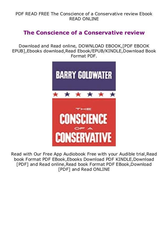 PDF READ FREE The Conscience of a Conservative review Ebook READ ONLINE The Conscience of a Conservative review Download a...