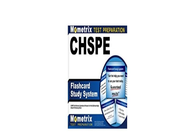 Detail Book Title : CHSPE Flashcard Study System CHSPE Test Practice Questions Review for the California High School Profi...