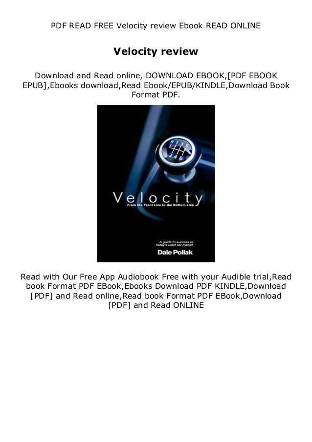 PDF READ FREE Velocity review Ebook READ ONLINE Velocity review Download and Read online, DOWNLOAD EBOOK,[PDF EBOOK EPUB],...
