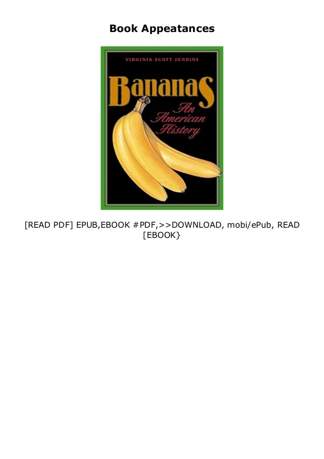 If you want to download or read Bananas An American History review , click button download in the last page