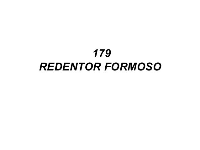 179 REDENTOR FORMOSO