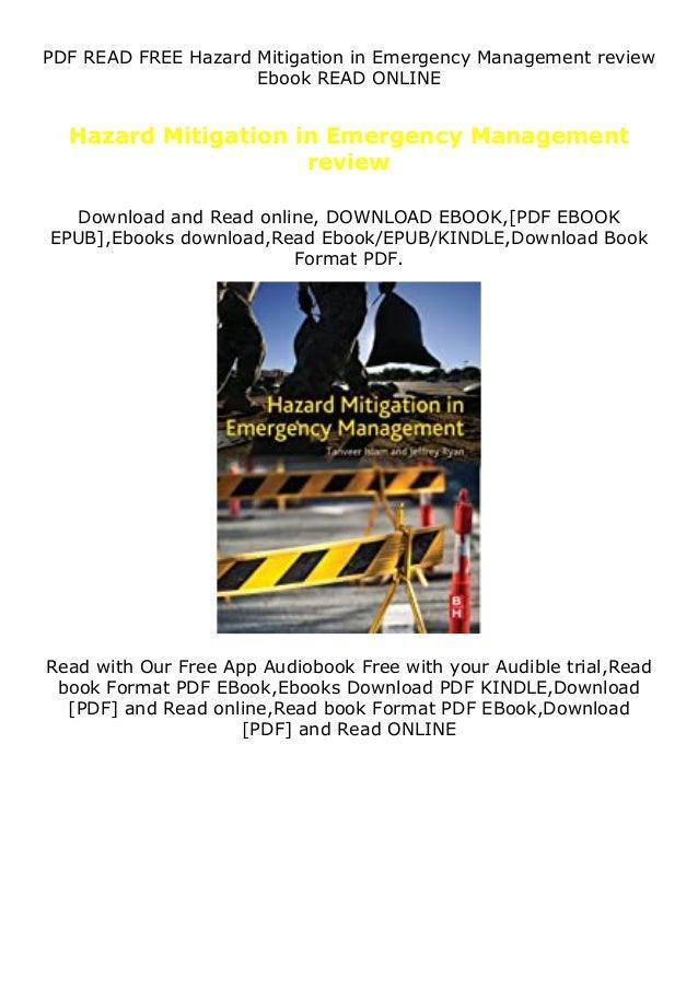 PDF READ FREE Hazard Mitigation in Emergency Management review Ebook READ ONLINE Hazard Mitigation in Emergency Management...