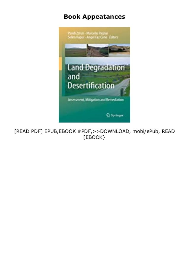 If you want to download or read Land Degradation and Desertification Assessment, Mitigation and Remediation review , click...