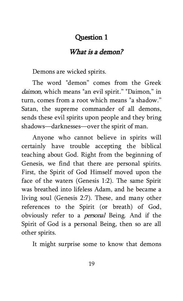 Exorcism manual Pdf