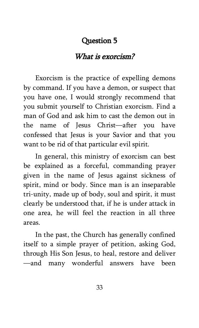 A manual on exorcism by h a maxwell whyte 33 solutioingenieria Gallery