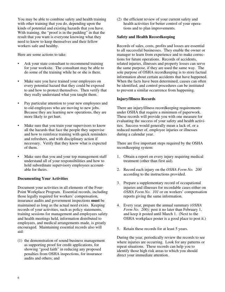 OSHA for Small Business