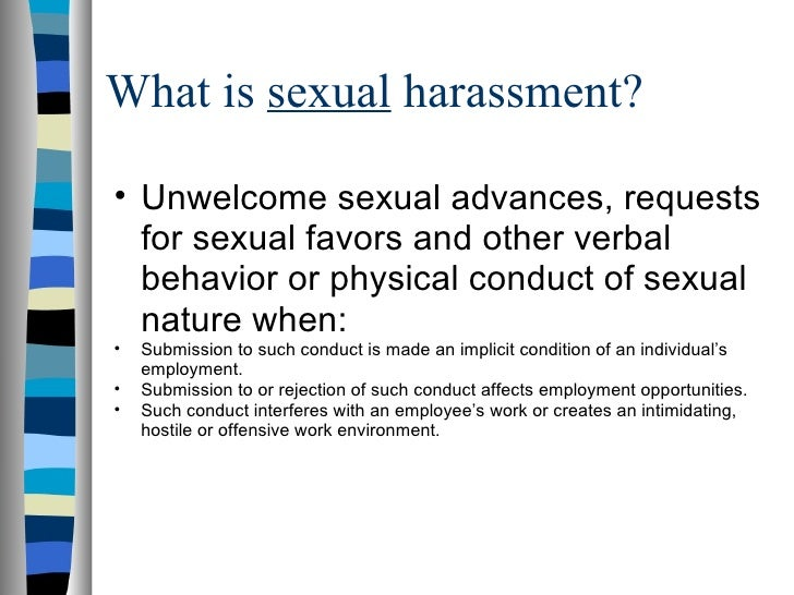the emotional physical and verbal effects of sexual harassment Explore the tabs below to learn a few of the common types of abuse so you can qualify as emotional or verbal bigger risk for further physical or sexual.