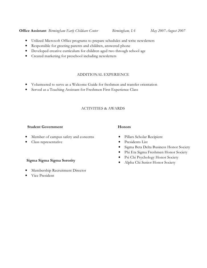 sigma beta delta on resume