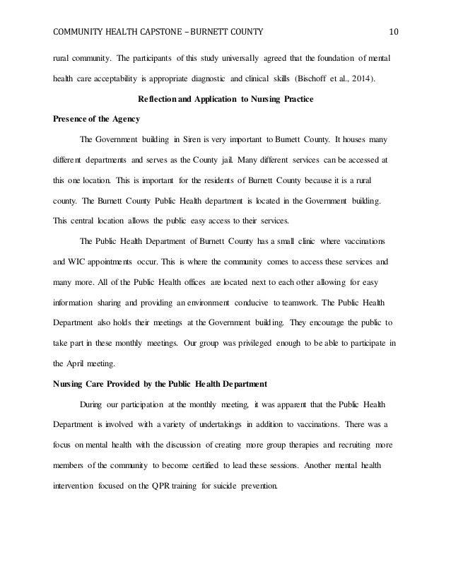 student nurse reflection essay