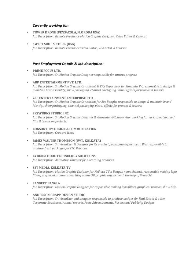 Abhishek Kundu Latest Resume Nov 2015