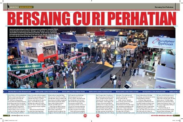 EXHIBITION INDO DEFENCE Bersaing Curi Perhatian 3130 COMMANDO EDISI NO.6 TH.X 2014 INFO POPULER KEMILITERAN & KEPOLISIAN A...