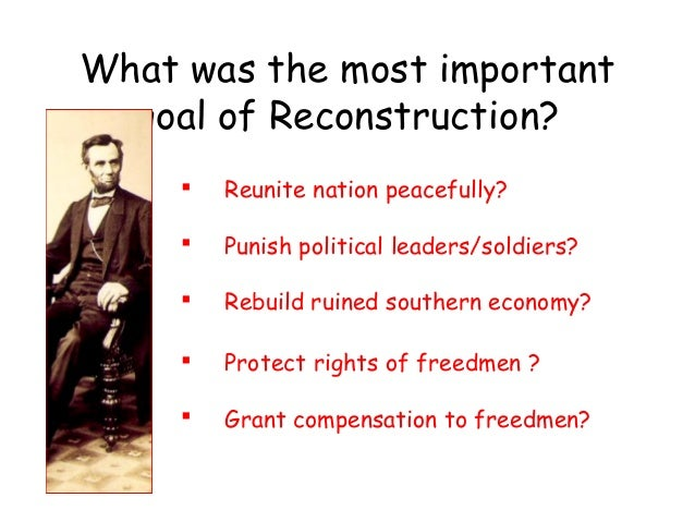 lecture 17 on reconstruction