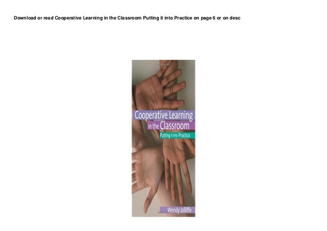 dl cooperative learning in the classroom putting it into practice buuk 1 638