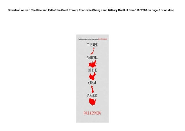 dl the rise and fall of the great powers economic change and military conflict from 15002000 3buuk 1 638
