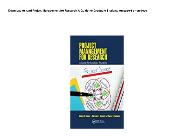 dl project management for research a guide for graduate students pedeef 1 638