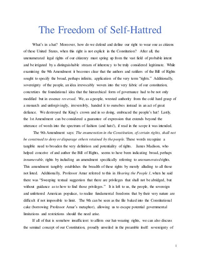 Freedom to love essay for her