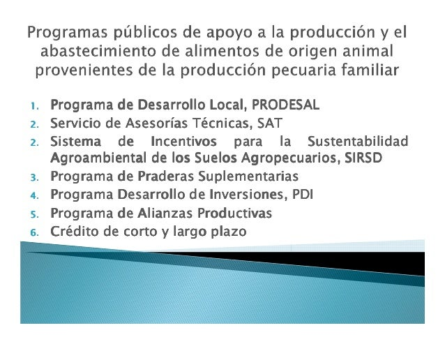 1.1.1.1. ProgramaProgramaProgramaPrograma dededede DesarrolloDesarrolloDesarrolloDesarrollo Local,Local,Local,Local, PRODE...